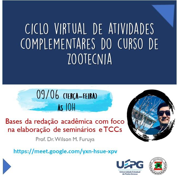 Colegiado de Zootecnia nas atividades complementares