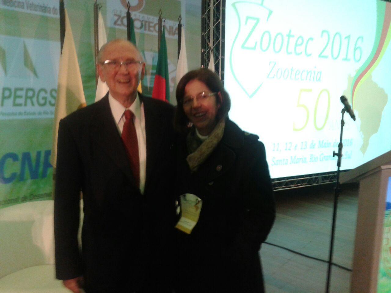 Reconhecimento do departamento de Zootecnia, ao professor José Francisco Sanchotene Felice – Patrono da Zootecnia Brasileira