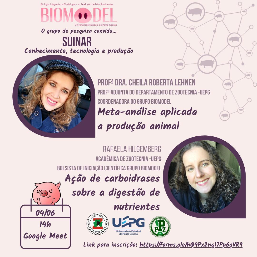 Curso de Zootecnia inicia ações de atividades complementares com o SUINAR