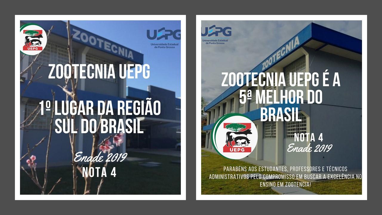 Curso de Zootecnia da UEPG é o 5º no Brasil e o 1º da região Sul