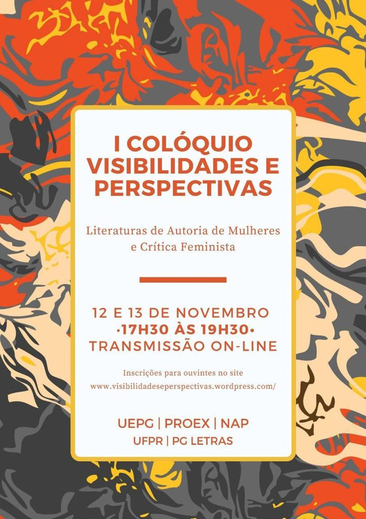 I Visibilities and Perspectives Colloquium will talk about African literature