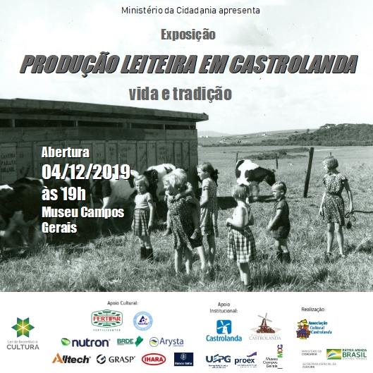 Exposição Castrolanda de 04/12/19 à 06/04/20
