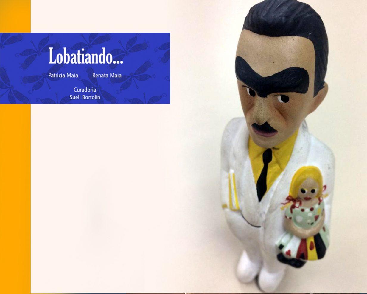 Exposição 'Lobatiando' de 14/10 à 07/12