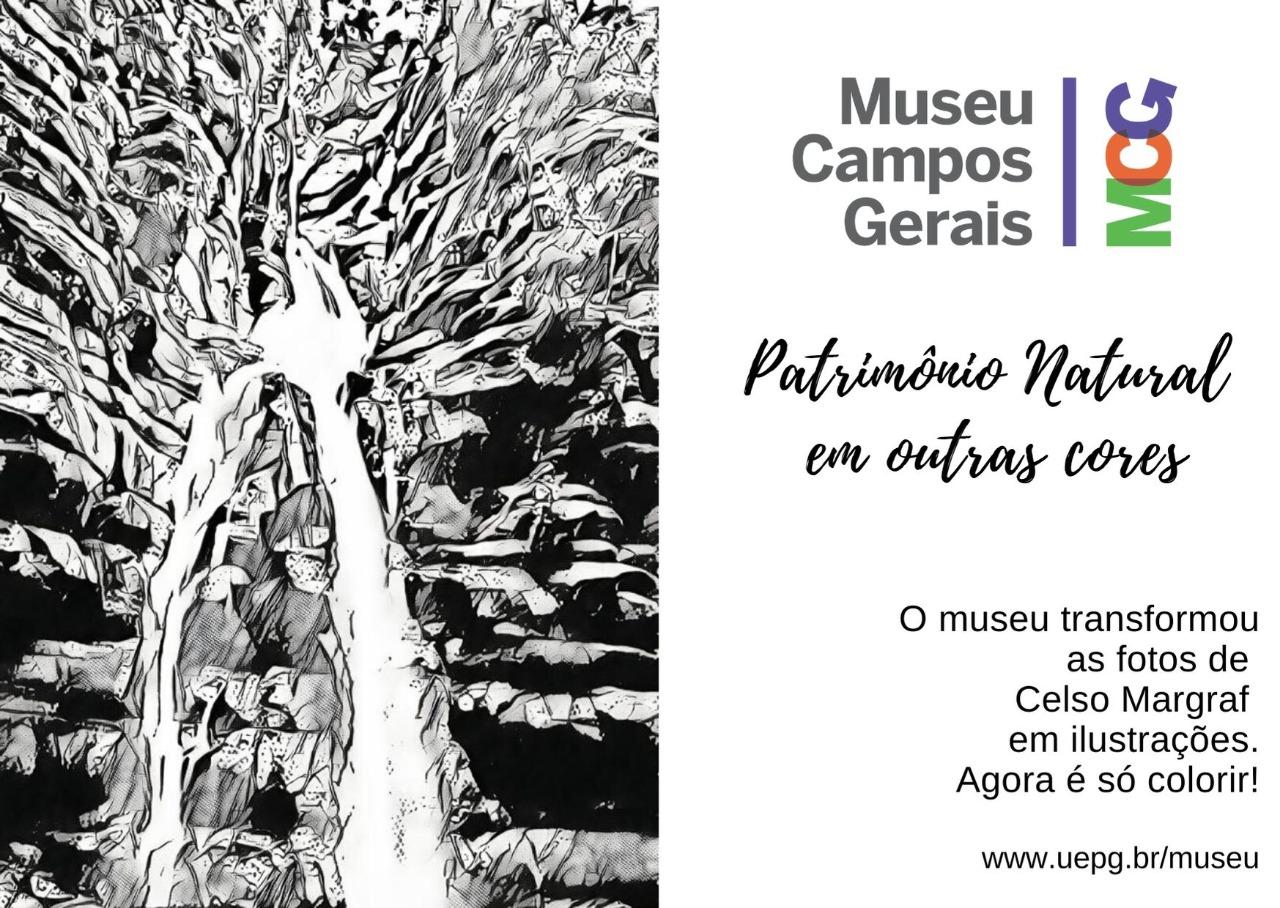Patrimônio natural dos Campos Gerais em outras cores