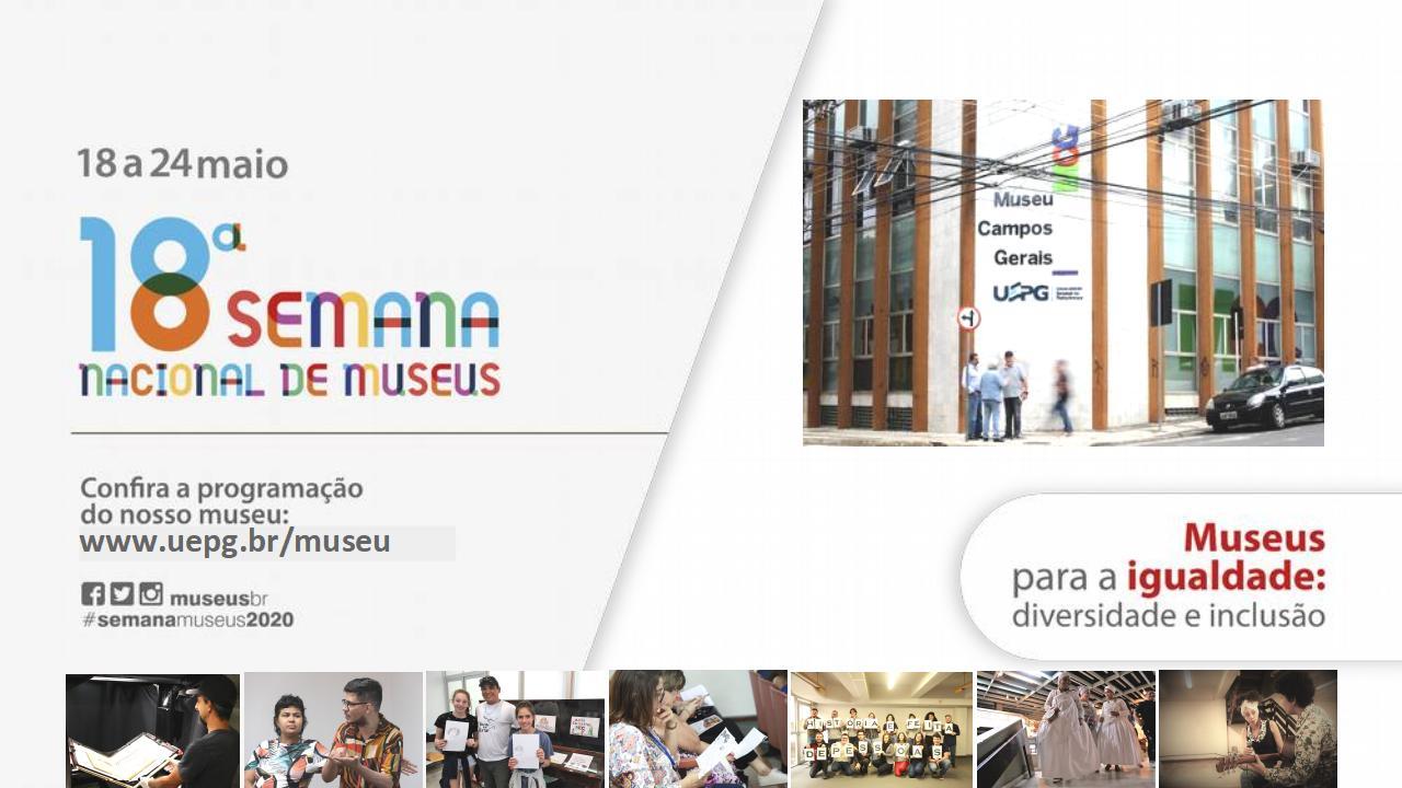 18ª Semana Nacional de Museus: diversidade e inclusão