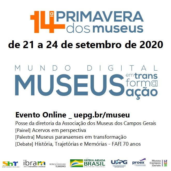 MCG na 14ª Primavera dos Museus