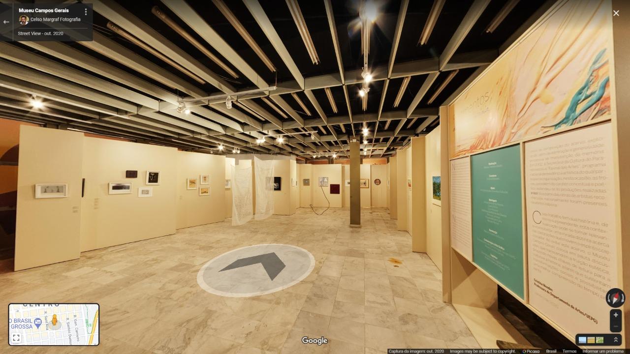 MCG oferece tour 360º pela história das artes no Paraná