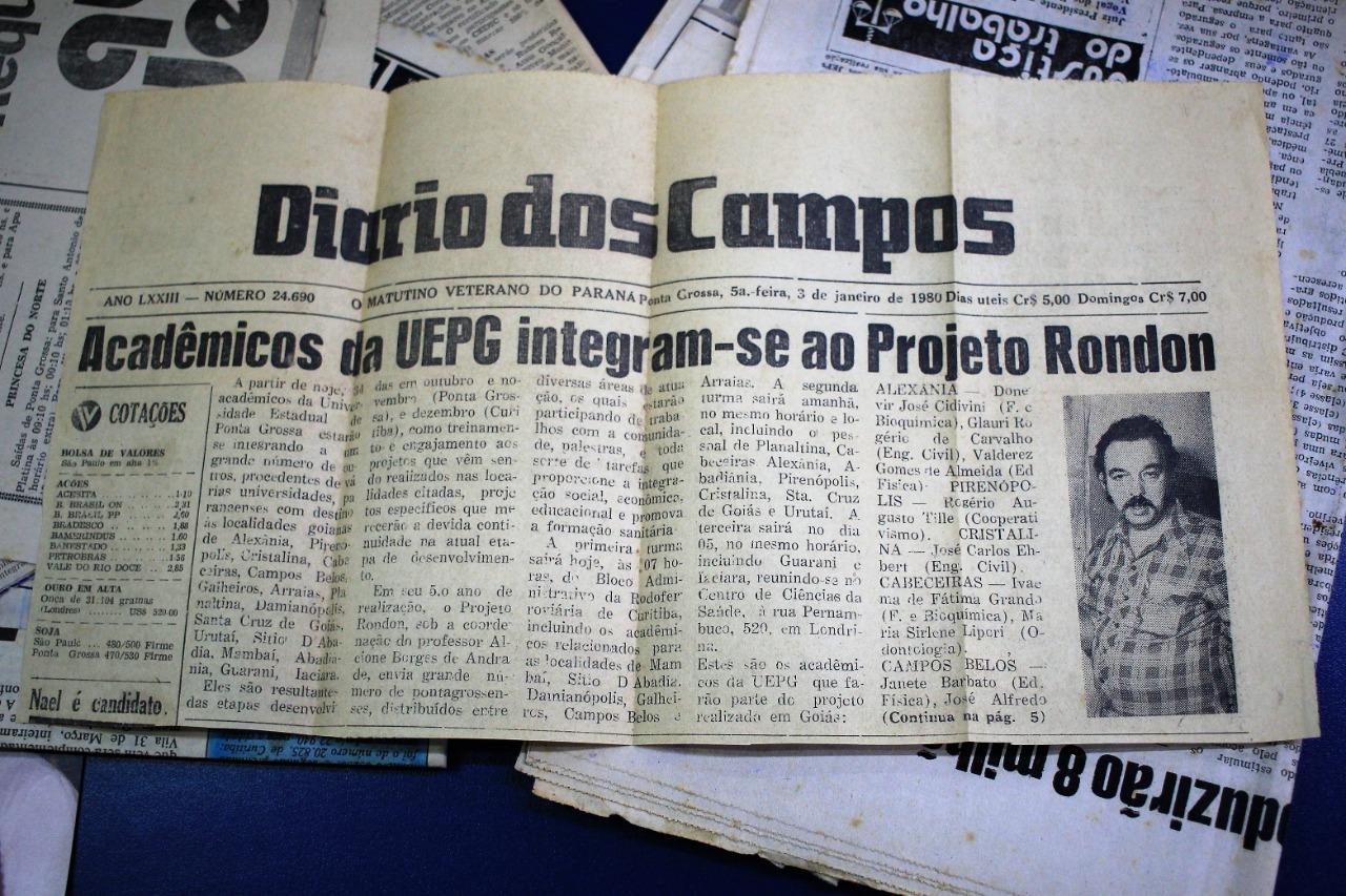 Novidade no acervo: professor Alcione Borges de Andrade