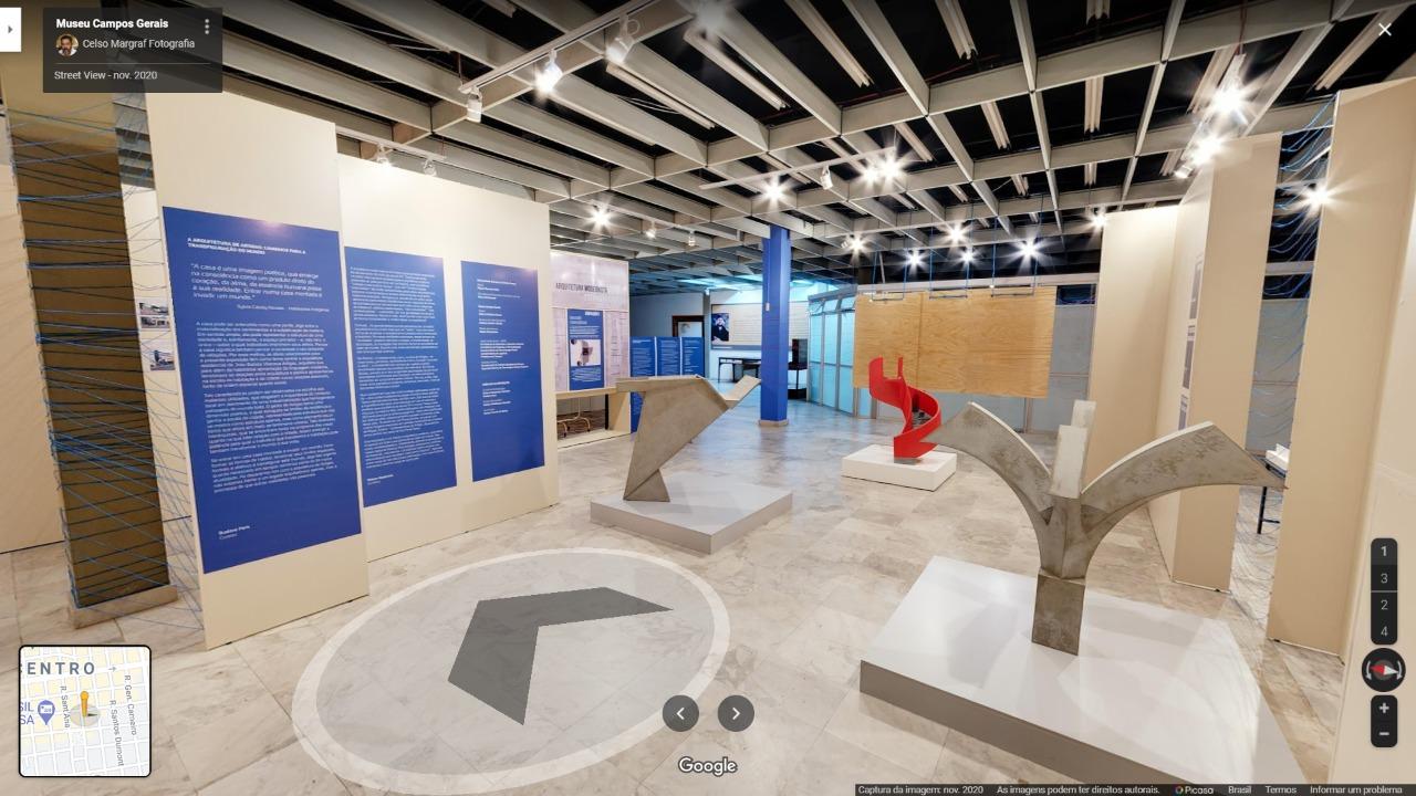 Visita em 360º à exposição Vilanova Artigas