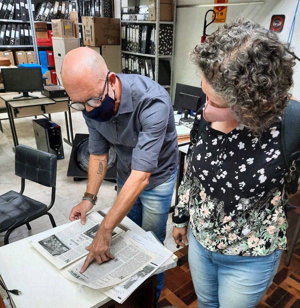 Repositório Memórias Digitais apresenta Jornal de História