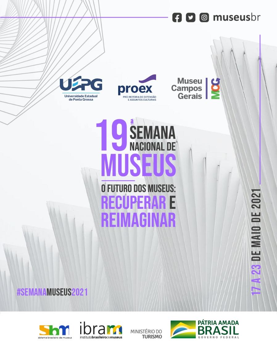 MCG abre inscrições para 19ª Semana Nacional de Museus