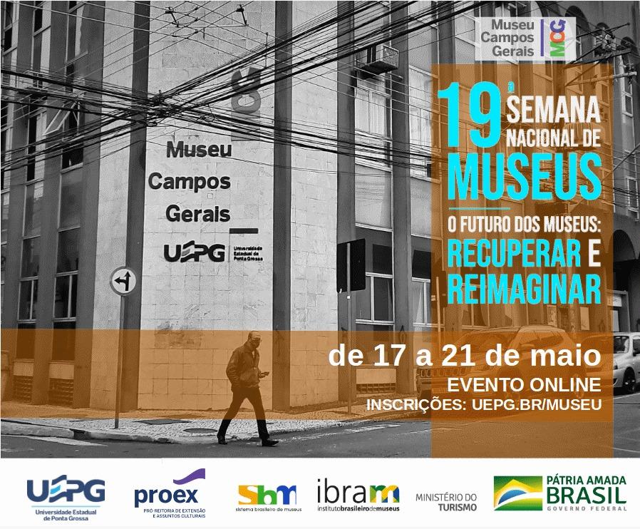 Museu Campos Gerais participa da 19ª Semana Nacional de Museus