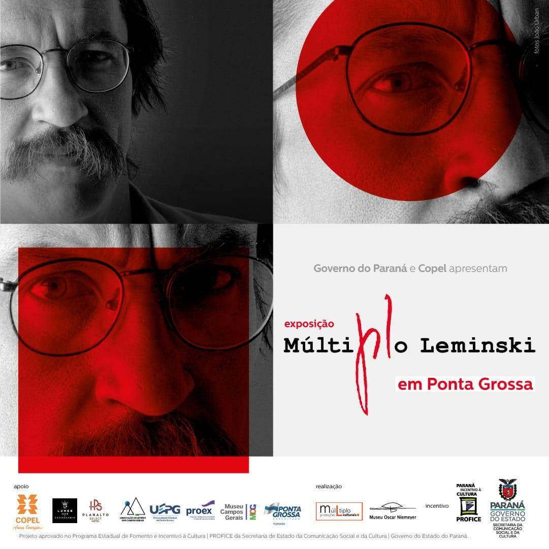 Museu Campos Gerais abre exposição 'Múltiplo Leminski'