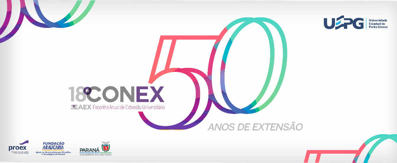 O 18° CONEX e 3° EAEX celebram os 50 anos de UEPG e Cinco décadas de Extensão