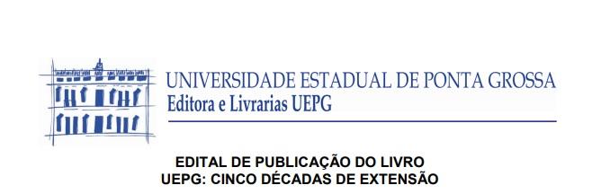 Edital PROEX – Livro UEPG cinco décadas de Extensão