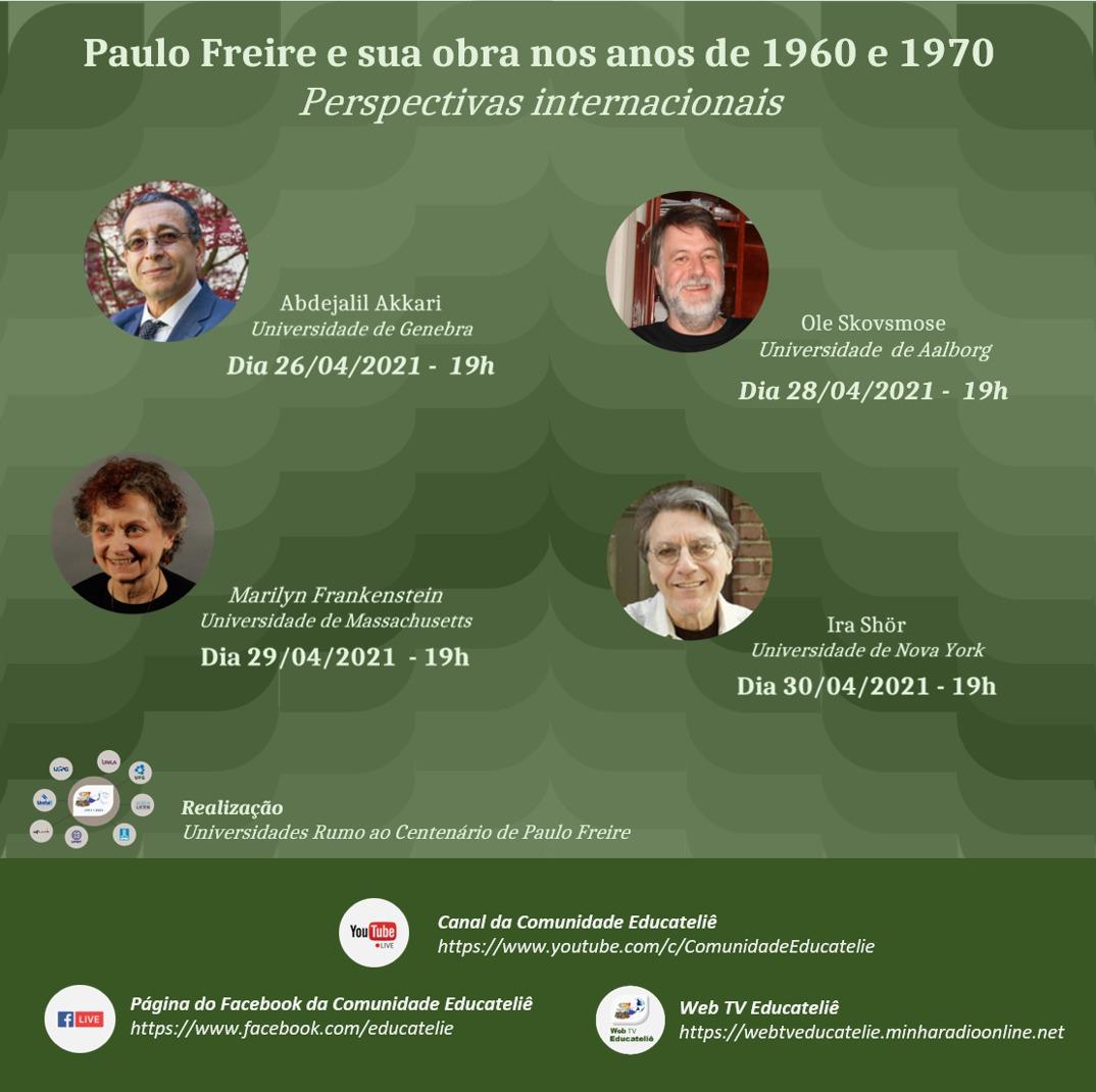 Paulo Freire e sua obra nos anos de 1960 e 1970